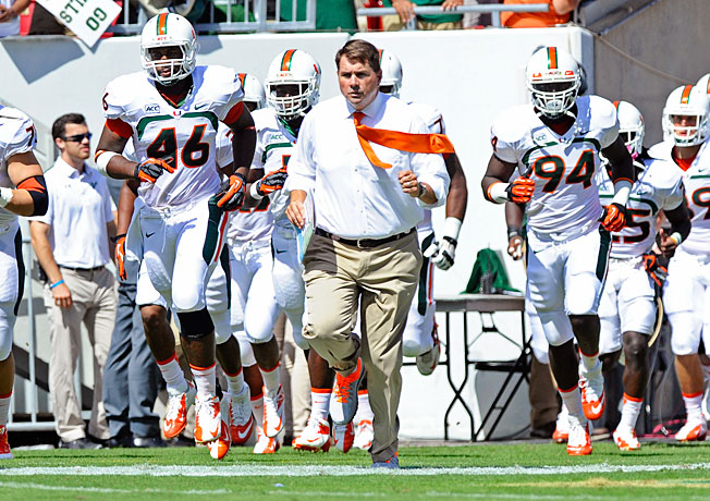 Miami was hit with a reduction of scholarships but no bowl ban as part of NCAA sanctions on Tuesday.