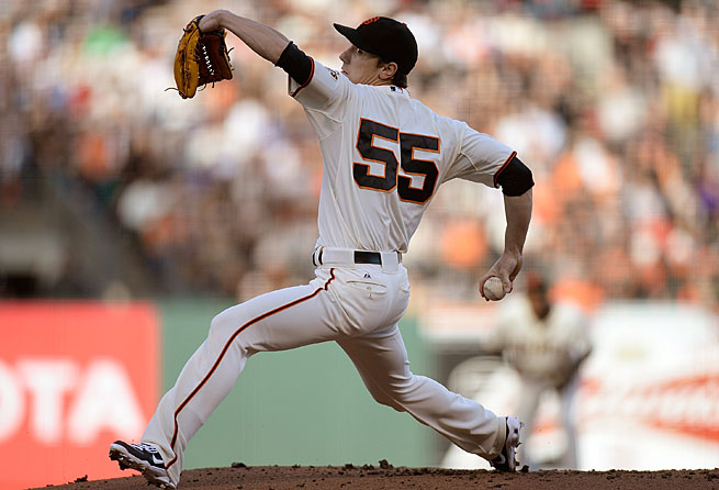 In seven seasons with San Francisco, Tim Lincecum has won two Cy Young awards and two World Series titles.
