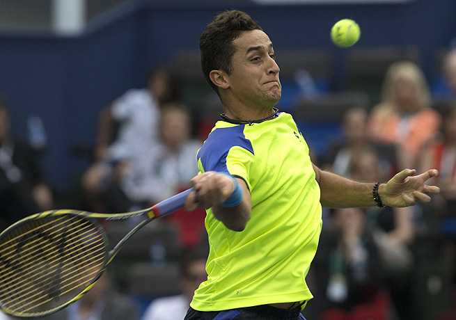 Nicolas Almagro, seen here at the Shanghai Masters, is seeking his third Valencia Open title.