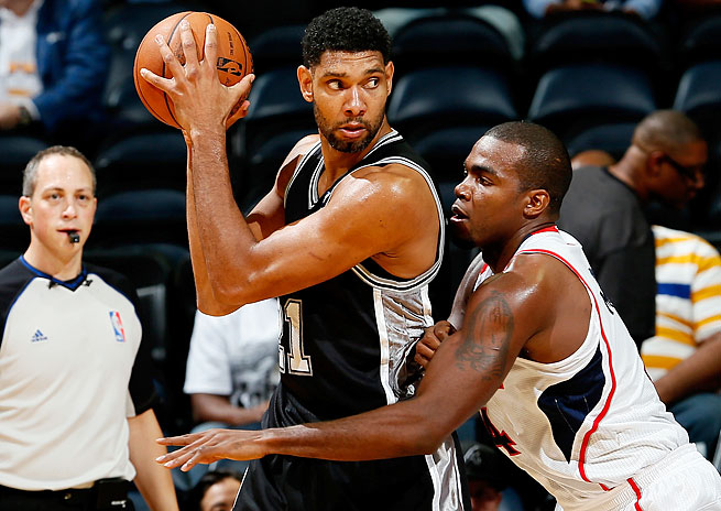 Tim Duncan was an All-Star and made the All-NBA first team as a 36-year-old last season.