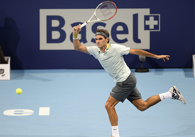 Roger Federer is still looking to book his place at the ATP World Tour finals in London in November.