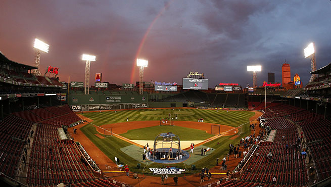The World Series will be played at Fenway Park for the 11th time.