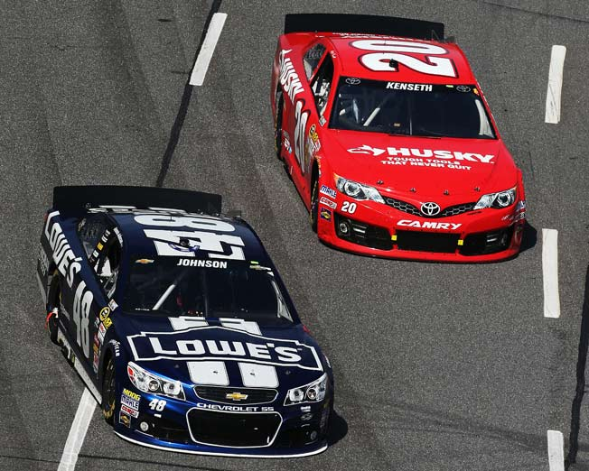For Matt Kenseth, the key to catching Jimmie Johnson will be staying close on two key tracks.