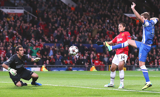 Inigo Martinez booted the ball into his own net 69 seconds into the match for a 1-0 Man U win.