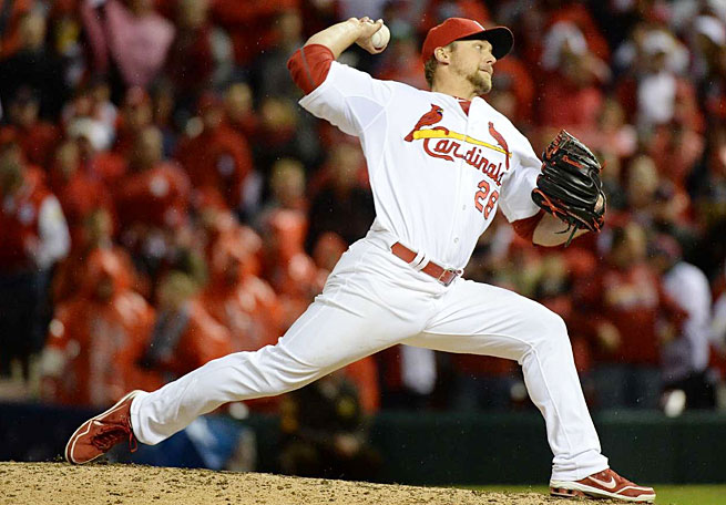 Trevor Rosenthal (21st round) is one of three gems unearthed by St. Louis four years ago.