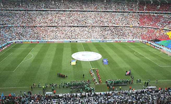 Germany last hosted a major soccer tournament in 2006 when it held the World Cup.