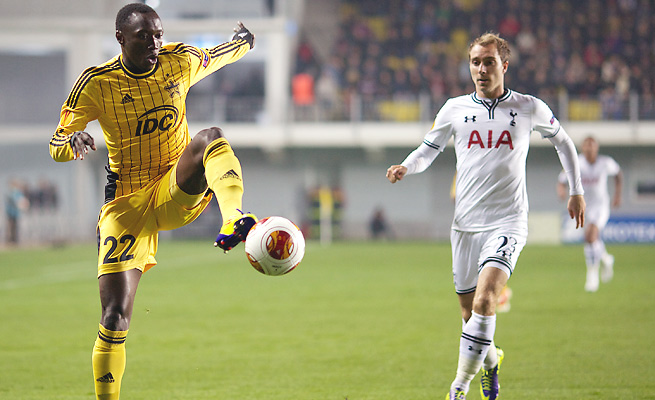 The Spurs have not allowed a goal in Europa League competition through three games.