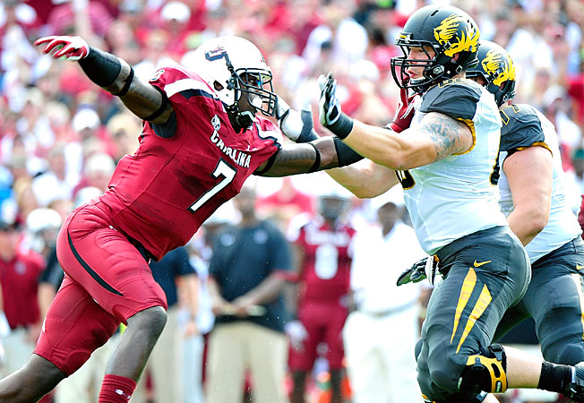 Jadeveon Clowney and South Carolina will look to make a SEC East push starting this week at Missouri.