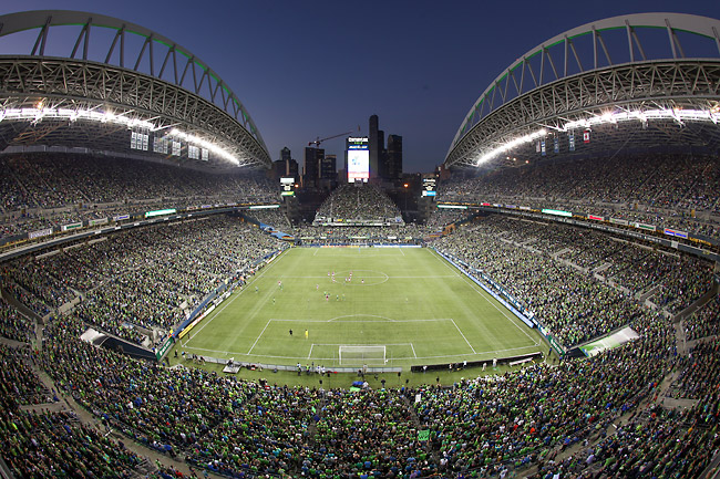 The Sounders draw more than 43,000 fans a game to CenturyLink Field, an average that ranks among the world's 40 best.