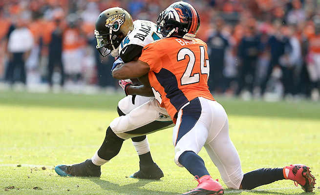Champ Bailey has played in just two games this season while nursing his left foot sprain.