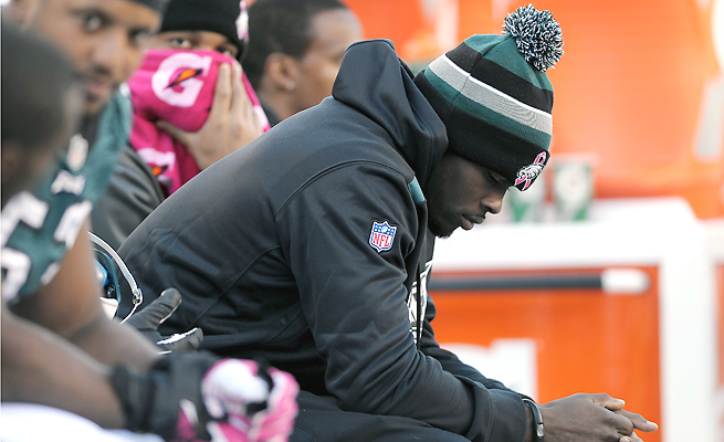 Michael Vick has not played for the Eagles since injuring his hamstring against the Giants in Week 5.