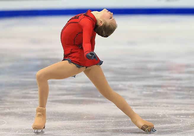 Julia Lipnitskaia's long program was enough to seal the title at Skate Canada in Saint John.