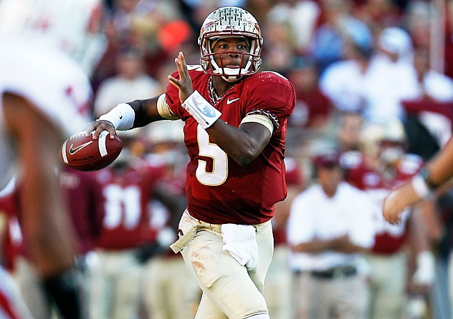 Jameis Winston and Florida State have outscored opponents 163-31 in the Seminoles' last three wins.