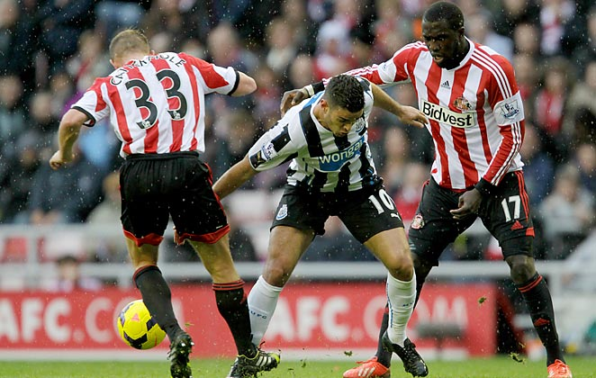 Jozy Altidore didn't score, but he put forth a strong performance in Sunderland's win vs. Newcastle.