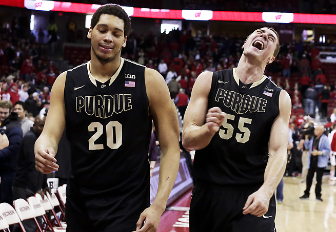 A.J. Hammons, a top post player in the Big Ten, will sit the first three games of the season.