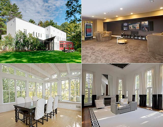 In June 2014, Garnett sold his home in Concord, Mass. for $3.635 million. The NBA star had asked for $4.85 million for the property in October 2013.