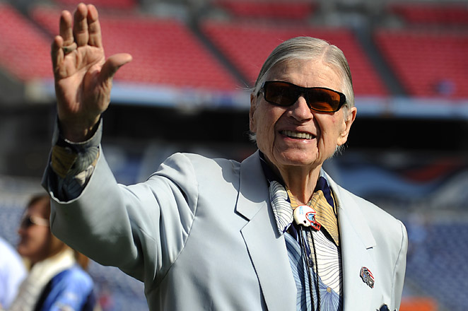 Tommy Smith, the son-in-law of Bud Adams (pictured above), has been involved with the Titans for decades.