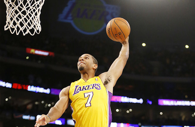 Xavier Henry came off the bench to score a career-high 22 points to lead the Lakers past the Clipperss.