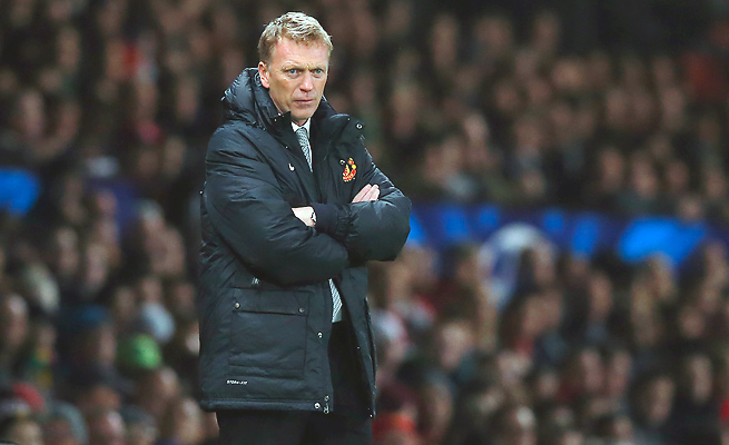 Manchester United is currently a disappointing eighth in the table in David Moyes' first year at the helm.