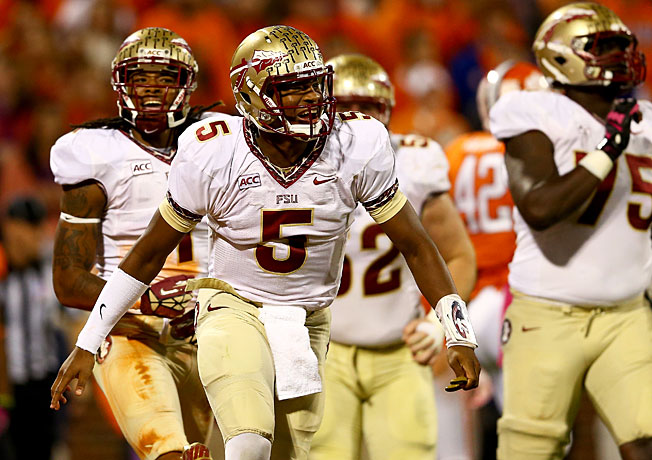 Jameis Winston and Florida State are more than three touchdown favorites against Miami this weekend.