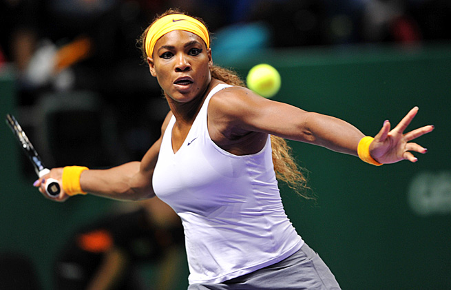 Serena Williams went 78-4 with a career-high 11 titles, including two Grand Slam crowns, this year.