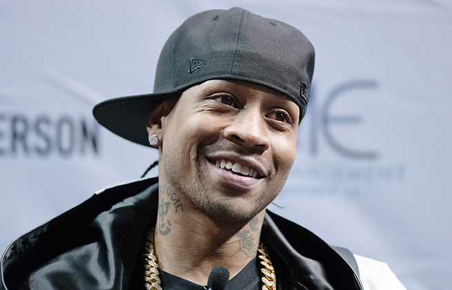 Allen Iverson scored 24,368 points over the course of 14 seasons in the NBA, 12 with the Sixers.