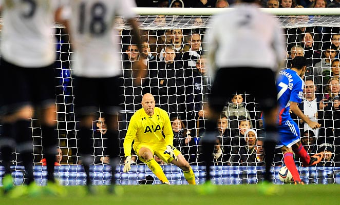 Brad Friedel helped Tottenham to shootout win over Hull in the League Cup.
