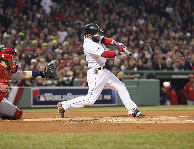 Dustin Pedroia is just one of four Red Sox players remaining from the 2007 World Series team. The others: David Ortiz, Jacoby Ellsbury and Jon Lester.
