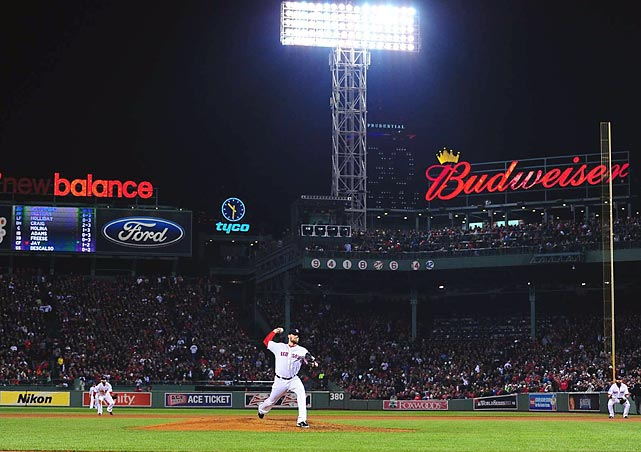 John Lackey became the latest in a string of unlikely heroes for the Red Sox when he threw 6.2 innings, and allowed just one run in the decisive Game Six.