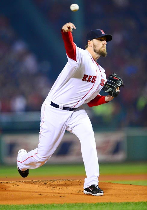In four playoff starts, John Lackey went 3-1 with a 2.77 ERA.