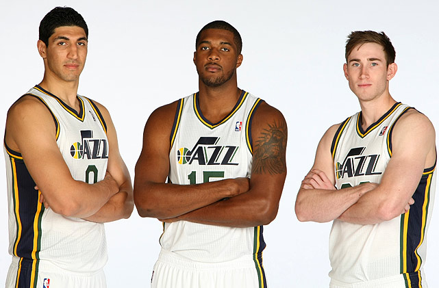 The Jazz lost four of their top five scorers from last season and have little to show for it. Instead, Utah will tap into its treasure chest of lottery picks, led by Gordon Hayward, Derrick Favors and Enes Kanter. But the average of the Jazz's projected starting lineup is 21.6 years old, meaning Utah is starting a college All-Star team, not an NBA one.