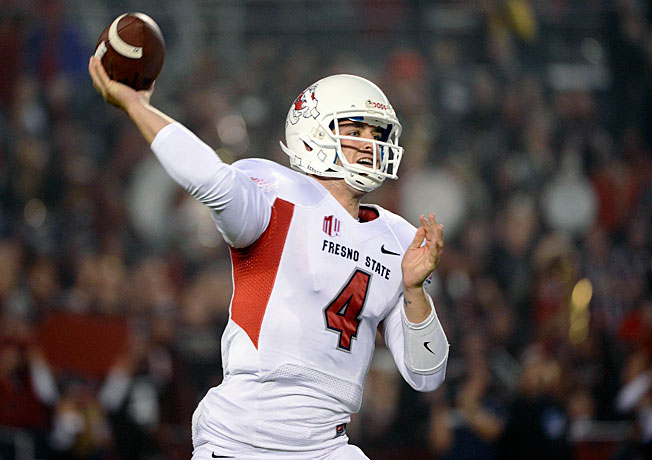 Fresno State quarterback and outside Heisman candidate Derek Carr has embraced his role as a father.
