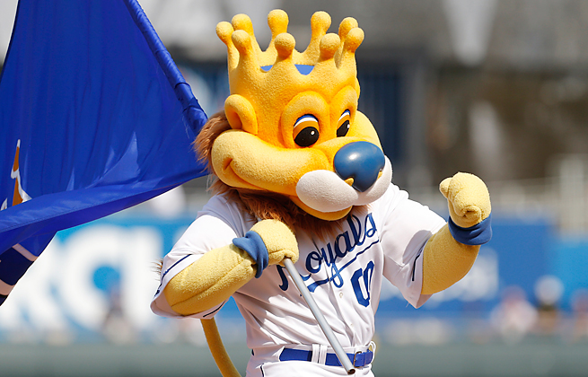 A Royals fan is suing the team after being struck in the eye by a hot dog thrown by the mascot.