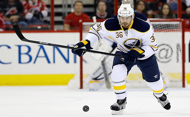 Patrick Kaleta was serving a 10-game suspension for a hit on Columbus' Jack Johnson.