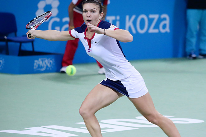 Top-seeded Simona Halep has won five WTA titles so far this year heading into the final in Bulgaria.