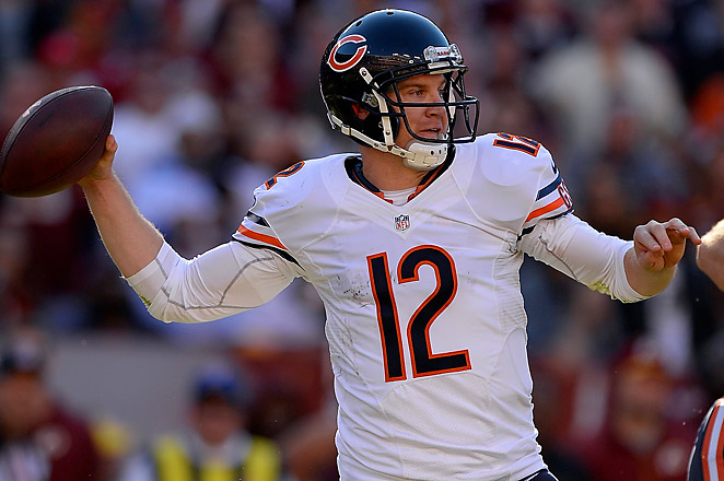 Peyton Manning owners who need a QB this week shouldn't count out the Bears' Josh McCown.
