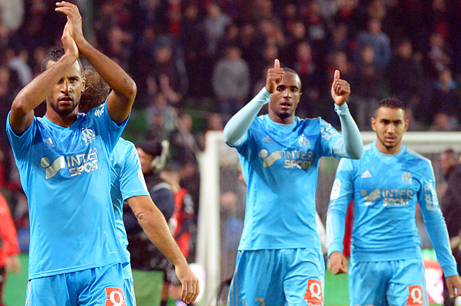 The draw helped Marseille climb into fifth place, five points behind third-place Lille.