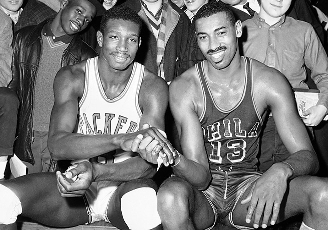 Drafted No. 1 by Chicago two years after Wilt Chamberlain, Walt Bellamy played 14 NBA seasons.