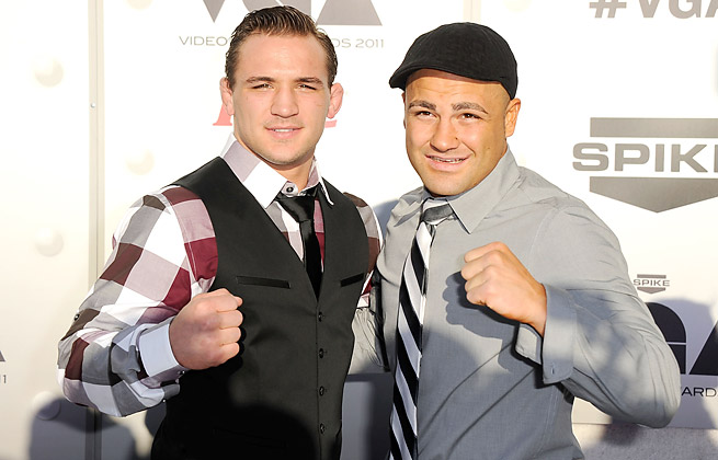 The second bout between Michael Chandler (left) and Eddie Alvarez saved a lackluster Bellator card.