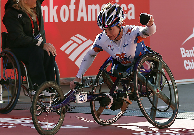 Tatyana McFadden's dominant stretch continued with yet another victory in New York on Sunday.