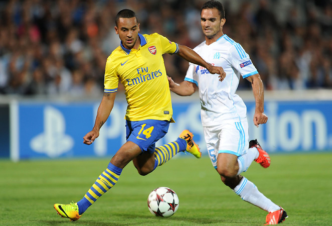 Theo Walcott and Arsenal are locked in a tight Champions League group and need to take points from the club's crucial battle at Borussia Dortmund.