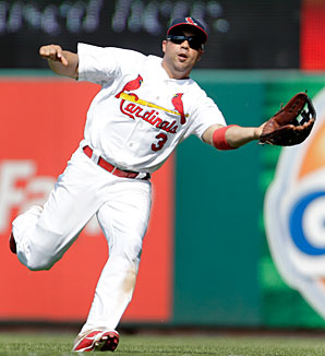 Carlos Beltran showed little sign of slowing down during two years with the Cardinals.