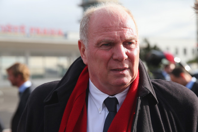 Bayern Munich president Uli Hoeness will stand trial for tax evasion in March.