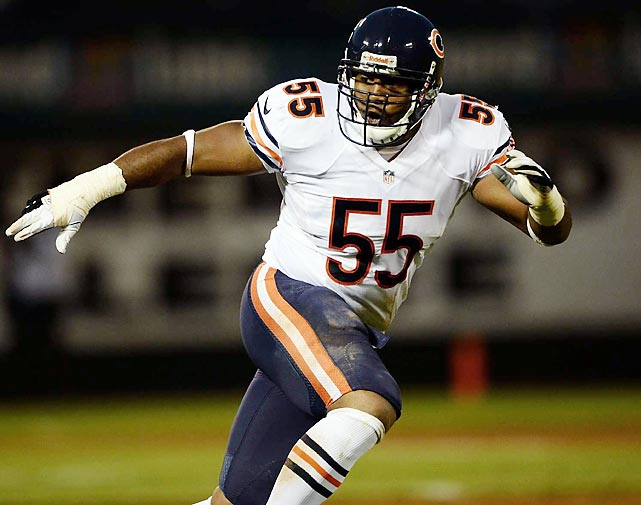 The once-vaunted defense is decimated by injury, and is now without Lance Briggs for the balance of the regular season. The Bears have surrendered 28.2 points and 381 yards per game, undermining a new-look offense that has thrived with both Jay Cutler and Josh McCown at the controls. <italics>All stats through Nov. 5</italics>