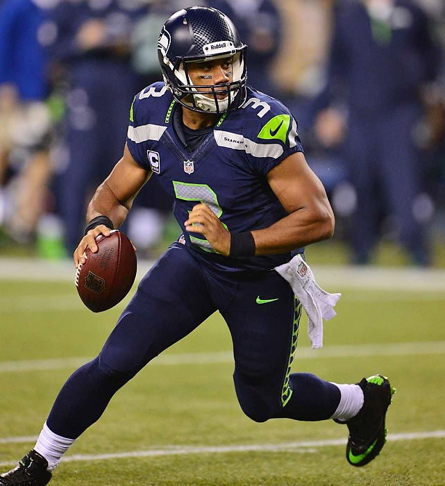 No doubt, the Seahawks are the prohibitive favorites in the NFC at the halfway point. However, they are just 1½ games ahead of the 49ers in the standings, and they still have a return date in San Francisco. Their playoff stock takes a huge hit if they lose home-field advantage. The biggest question at this point is do they have the receiving corps with which to win a Super Bowl? <italics>All stats through Nov. 5</italics>