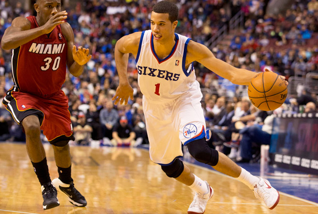 Michael Carter-Williams is averaging 20 points, 7.8 assists, 5 boards and 3.3 steals through four games.