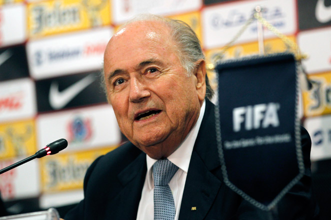 FIFA president Sepp Blatter will have a private audience with Pope Francis in Rome on Nov. 22.