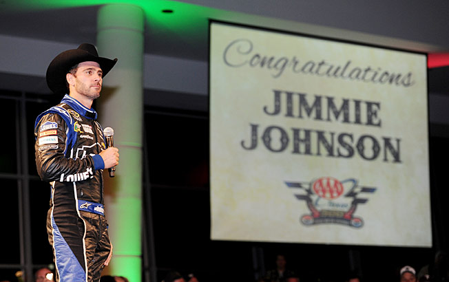 After a win at Texas, Jimmie Johnson is on the verge of capturing his sixth Cup championship.