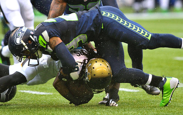 The heartbeat of the Legion of Boom is No. 2 among defensive backs with two forced fumbles, and No. 1 with 59 tackles.