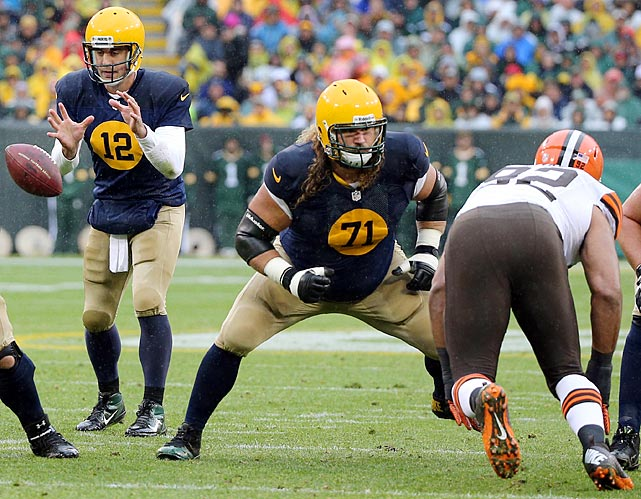 Sitton's been instrumental in protecting Aaron Rodgers and paving paths for Green Bay's revived running game.